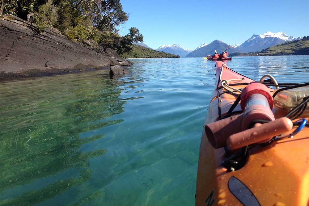 Paddle to the Islands near Glenorchy